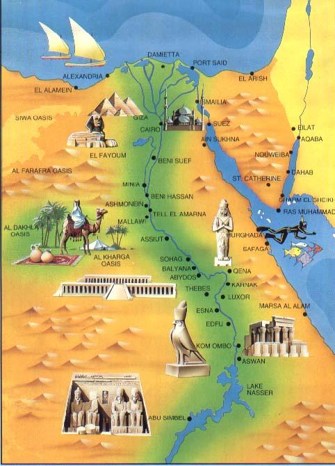 Mapa Egito Cairo Minha experiencia Miriam Accaoui